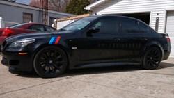 James Carter BMW M5 3
