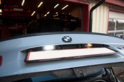 Bmw E46 Carbon Styling Fenders With Grills Angel Eyes 10