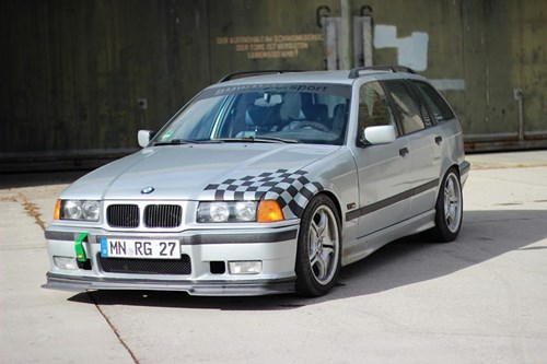 20200220 BMW E36 Touring Gruberrobin