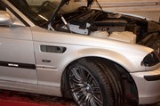Bmw E46 Carbon Styling Fenders With Grills Angel Eyes 14
