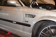 Bmw E46 Carbon Styling Fenders With Grills Angel Eyes 15