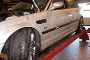 Bmw E46 Carbon Styling Fenders With Grills Angel Eyes 16