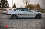 Bmw E46 Carbon Styling Fenders With Grills Angel Eyes 23