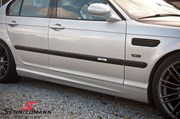 Bmw E46 Carbon Styling Fenders With Grills Angel Eyes 24