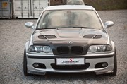 Bmw E46 Carbon Styling Fenders With Grills Angel Eyes 27
