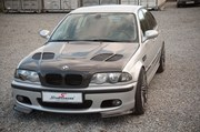 Bmw E46 Carbon Styling Fenders With Grills Angel Eyes 29