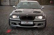 Bmw E46 Carbon Styling Fenders With Grills Angel Eyes 32