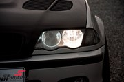 Bmw E46 Carbon Styling Fenders With Grills Angel Eyes 33