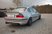 Bmw E46 Carbon Styling Fenders With Grills Angel Eyes 39