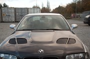Bmw E46 Carbon Styling Fenders With Grills Angel Eyes 40