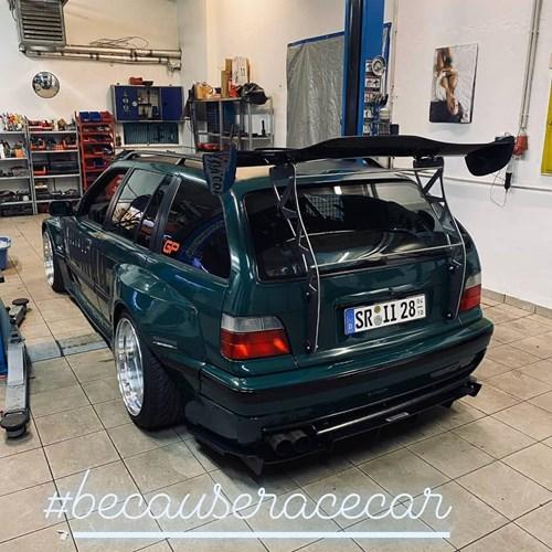 20200222 BMW E36 Touring Pandemmuse Lv