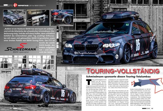 BMW Scene Schmiedmann BMW F11 535D Page 1