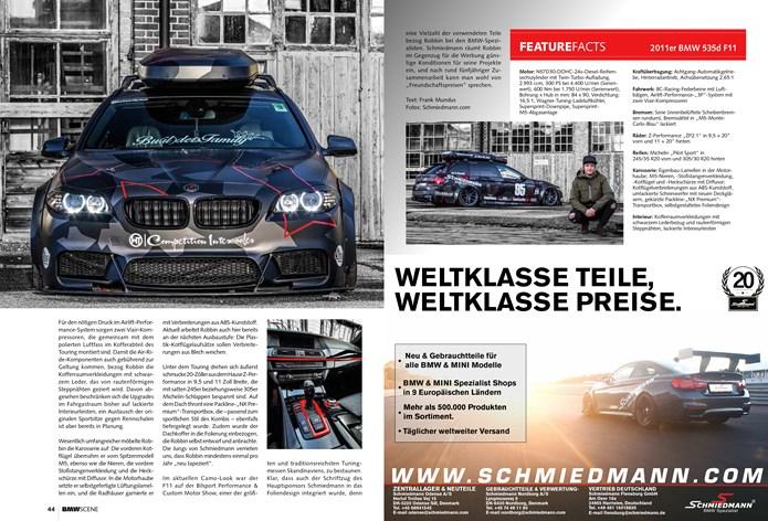 BMW Scene Schmiedmann BMW F11 535D Page 2