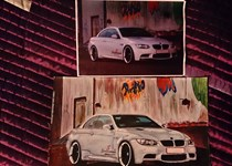 Bmw M3 E93 Compressor Painting
