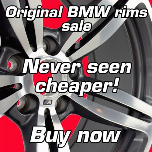 Original BMW Rims Sale Endelig