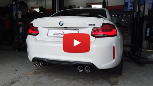 BMW M2 Competition Eisenmann Race Cat Back Exhaust Sound 1 Yt Knap