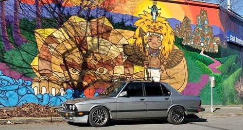 20200309 BMW E28 E28 Garage
