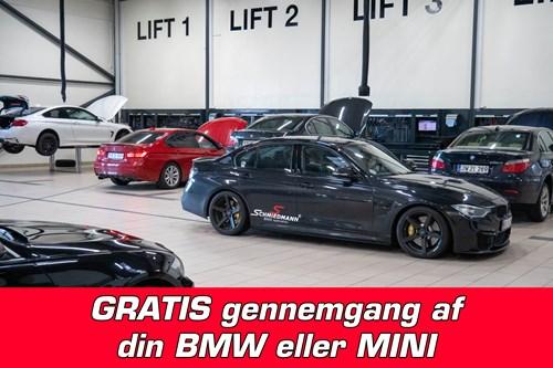 Gratis Gennemgang Af Din BMW Eller MINI