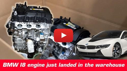 BMW I8 Motor Cover Yt Knap