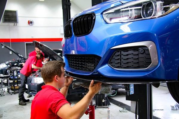 Verkstad specialiserad på BMW