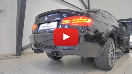 BMW M3 Akrapovic Udstoedning Yt Knap