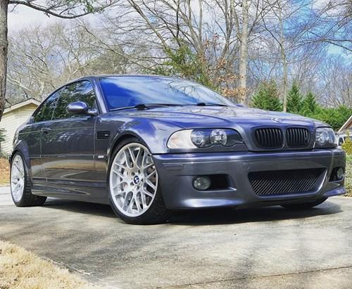 20200201 BMW E46 M3 Stache N Cars
