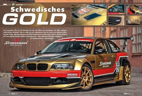 BMW E46 M3 GTR Side 1