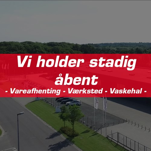 Vi Holder Stadig Aabent