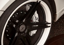 Schmiedmann big brake kit front side closeup BMW E93 M3