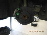 BMW E39 530D EBC Pads Discs Front 02