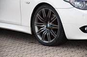 Bmw E60 Lci Anthracite Grey Powder Coat Wheels01