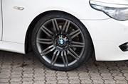 Bmw E60 Lci Anthracite Grey Powder Coat Wheels03