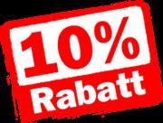 10Rabatt