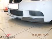 Bmw E93 M3 Original Bmw Carbon Frontspoiler Lips02