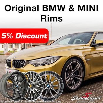 Originale BMW Faelge Kvardrat 5 EN