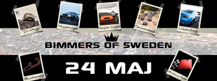 Bimmers Of Sweden 2014 Banner
