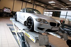 BMW Z4 E85 4 Wheel Adjustment32