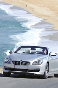 BMW At The Beach