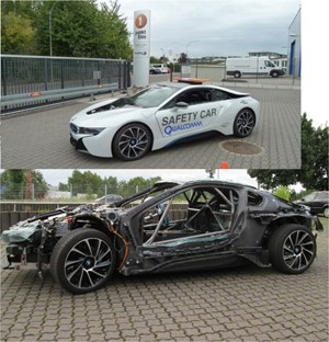 Wiechers BMW I8 Safetycar